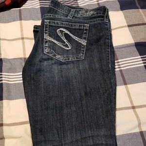 Silver Jean's Aiko boot cut W34xL33